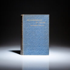 First edition of The Interpretation of Dreams in English by Dr. Sigmund Freud, published in 1913.