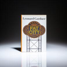 First edition of Fat City by Leonard Gardner.