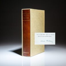 Signed limited edition of Roots by Alex Haley.