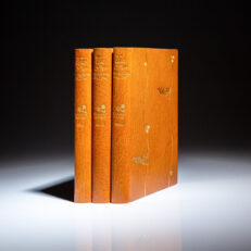 First edition, first issue of Tess of the d'Urbervilles, in three volumes, by Thomas Hardy.