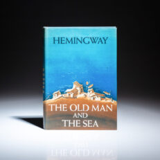 First edition, first printing of Old Man and The Sea by Ernest Hemingway, a fine example.