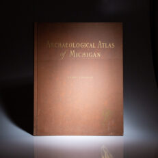 Archaeological Atlas of Michigan by Wilbert B. Hinsdale, published in 1931.