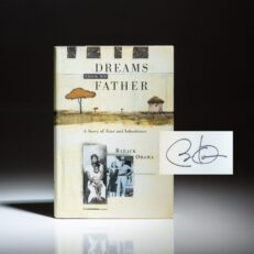 The true first edition of Dreams From My Father, signed by Barack Obama.