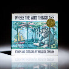Second printing of Where the Wild Things Are by Maurice Sendak, in second state dust jacket.