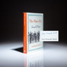 Signed first edition of The Nine of Us: Growing Up Kennedy by Jean Kennedy Smith.