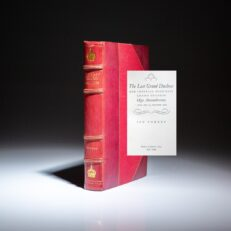 First edition of The Last Grand Duchess, Her Imperial Highness Grand Duchess Olga Alexandrovna, by Ian Vorres, bound in decorative leather.
