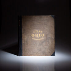 1869 Atlas of the State of Ohio by H.F. Walling of H.H. Lloyd & Co.