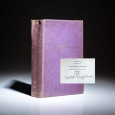 Signed limited edition of My Memoir by Edith Bolling Wilson.